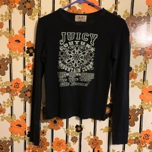 Black Juicy Couture thermal